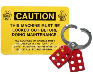 Lockout Tagout OSHA Standard